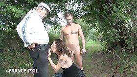 Hot Old Pervert Jacks His Penis