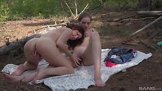 Minority share a dildo in outdoor scenes development eradicate affect cam