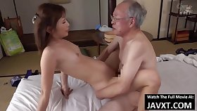 Exciting Asian Young Babe Had Sexual intercourse by Grandpa - old and 18yo schoolgirl